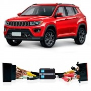 Interface Desbloqueio De Video Jeep Compass 2017 2018  Faaftech