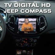 Interface Desbloqueio De Video + TV FULL - Jeep Compass 2017 2019 Faaftech