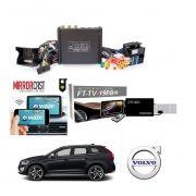 Interface Desbloqueio multimídia VOLVO XC60 V60 S60 + Tv Digital + Espelhamento sem Fio