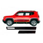 Jogo Friso Lateral Jeep Renegade - Modelo Original - PRODUTO INSTALADO