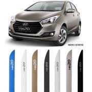 Jogo Friso Lateral Pintado Hyundai HB20 2016 a 2020 - Cor Original - Modelo Facão
