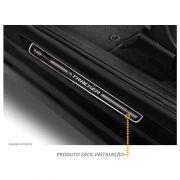 Soleira Premium Elegance GM Tracker 2015 a 2019  - 4 Portas - Vinil + Resinada 8 Peças
