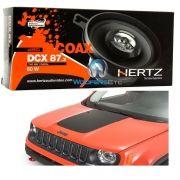 Kit Alto Falantes Hertz Painel Jeep Renegade - Fiat Toro Dcx 87 ( 3,5 Pols./ 60w Rms ) HI End