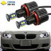 Kit Angel Eyes Super Led Bmw 48w Serie M 320i 328i 335i z4 X6 - H11 - Com CAMBUS