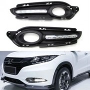 Kit Grade com LED DRL -  Honda HRV 2015 á 2018 - Day Ligth