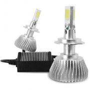 Kit Lâmpada Super LED 3D Headlight 6000K 7200 lumes -  Efeito Xenon - Encaixe HB4 HB3 H1 H3 H4 H7 H11 H27 H16