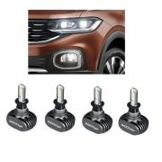 Kit Lampadas VW TCross - LED ULtra Shock Ligth Titanium  -  2 kits - Farol Baixo  e Milha
