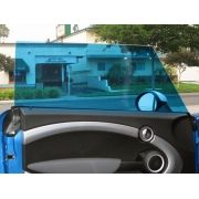 _Película Automotiva Especial Linha Profissional Proteção Solar G20 G35 -  AZUL MERCEDES