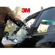 Película Automotiva Antivandalismo 3M - SAS G20 - Segurança, privacidade e redução de UV - bloqueiam até 99% dos raios UV prejudiciais, Garantia 3 anos   - Veiculo Compacto / Sedan Medio