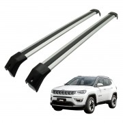Rack Travessa Jeep Compass 2016 a 2018  - Preto