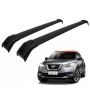 Rack Travessa Nissan Kicks 2016 a 2018  - Preto
