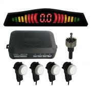 Sensor De Estacionamento Oem Embutido Acabamento Original 4 Sensores