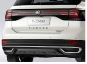 Sensor de Estacionamento Ré VW TCross -  Embutido - OEM - 4 Sensores - Sonoro Com Display Slim - Visor em LED -