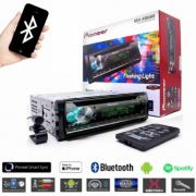 Som Automotivo CD Player Automotivo Pioneer DEH-X500BR Entrada USB, Reproduz MP3, Mixtrax , Controle Remoto