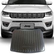 Tapete Porta Malas  Jeep Compass 2017 e 2020 Preto Fabricado em PVC