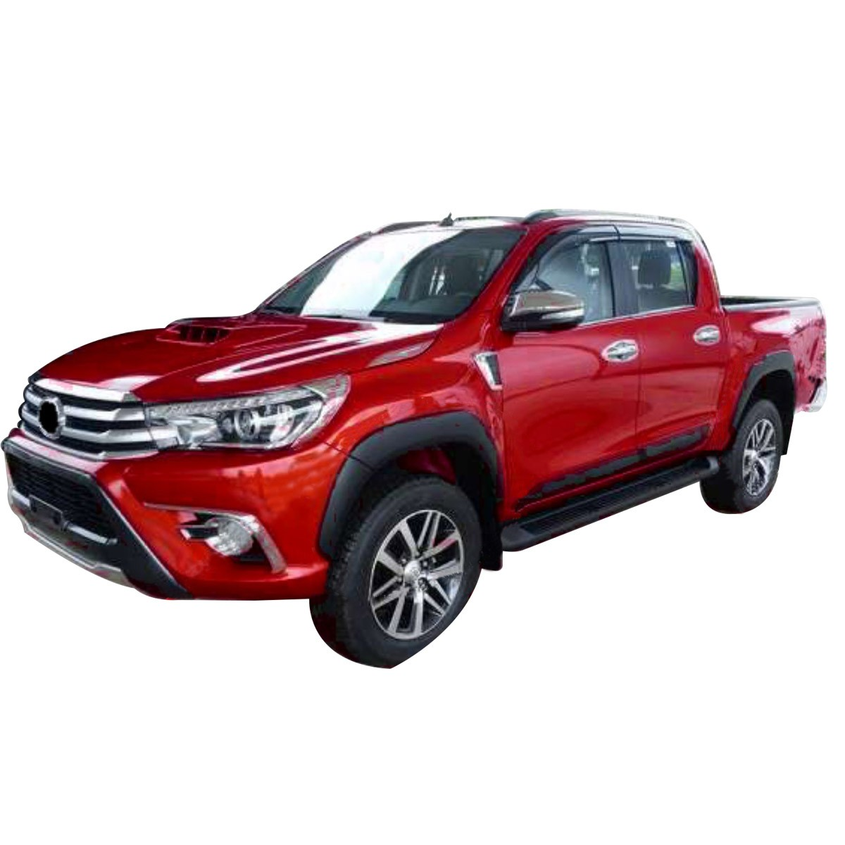 Alargador De Paralamas Original Oem Toyota Hilux 2016 A 2018