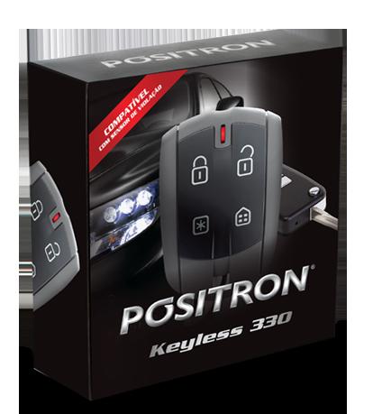 Alarme Volumétrico Perimétrico - Positron Keyless 330 - Aciona Pelo Comando Orginal  Sensor de vidros