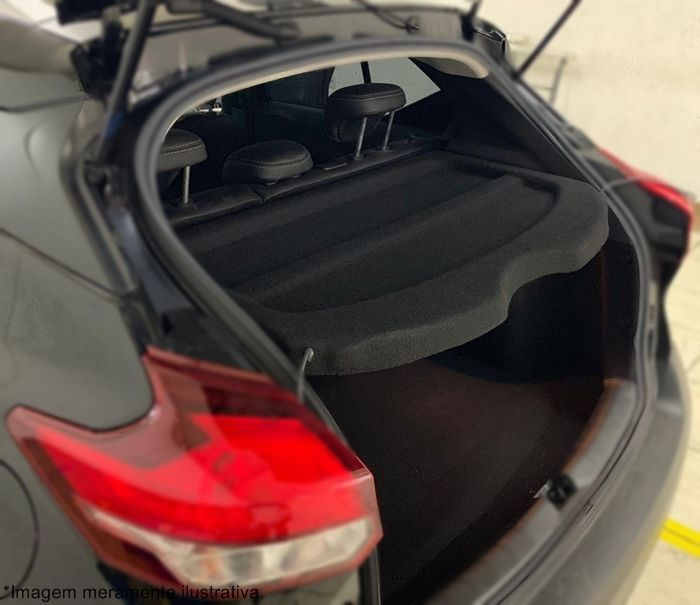 Bagagito Tampão Porta Malas Nissan Kicks - Modelo Original em Fibra