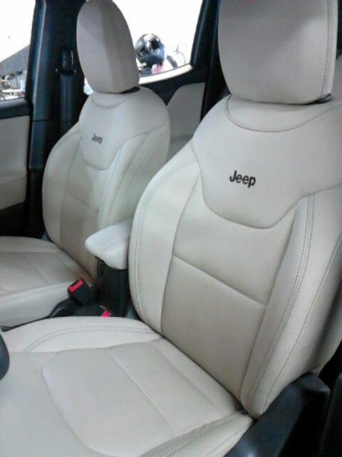 Banco de Couro Jeep Renegade - Revestimento Couro Legitimo Bancos Dianteiros Traseiros e Laterais