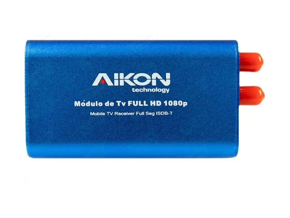 Box Sintonizador e Receptor TV Digital Full HD - 1080px Aikon / Winca
