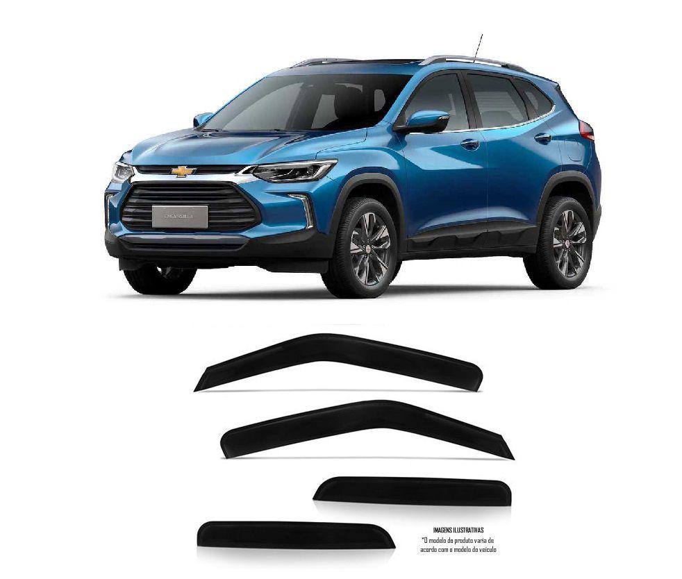 Calha Defletor De Chuva Chevrolet Novo Tracker 2015 a 2021