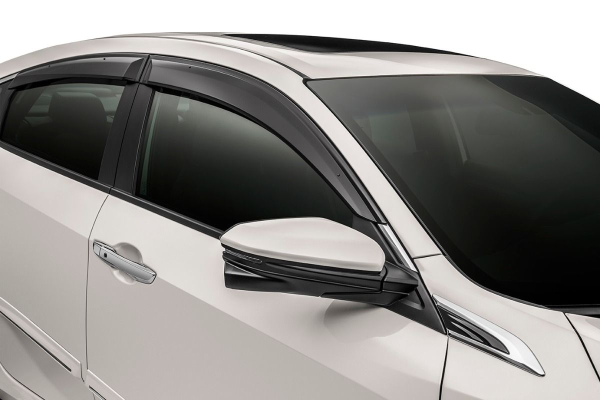 Calha Defletor De Chuva Honda Civic G10 2017 2019
