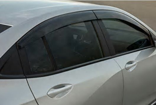 Calha Defletor De Chuva Onix Nova Geração  - 4 portas Hatch / Plus
