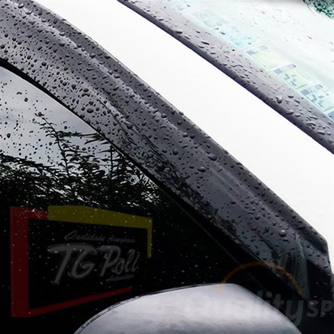 Calha Defletor De Chuva Renault Captur