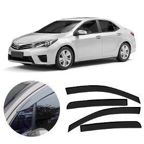 Calha Defletor De Chuva Toyota Corolla 2015 á 2018