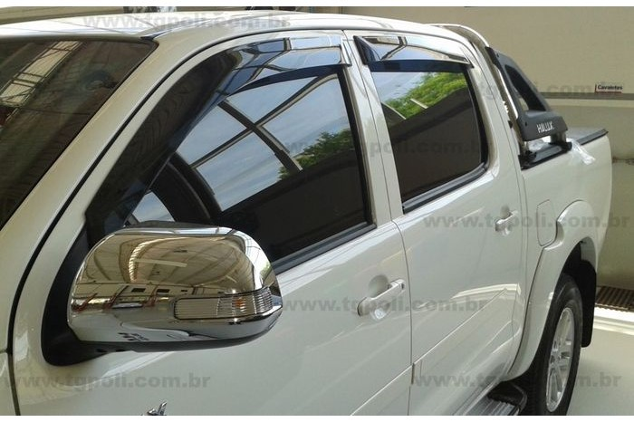 Calha Defletor De Chuva Toyota Hilux 2015 - 2019