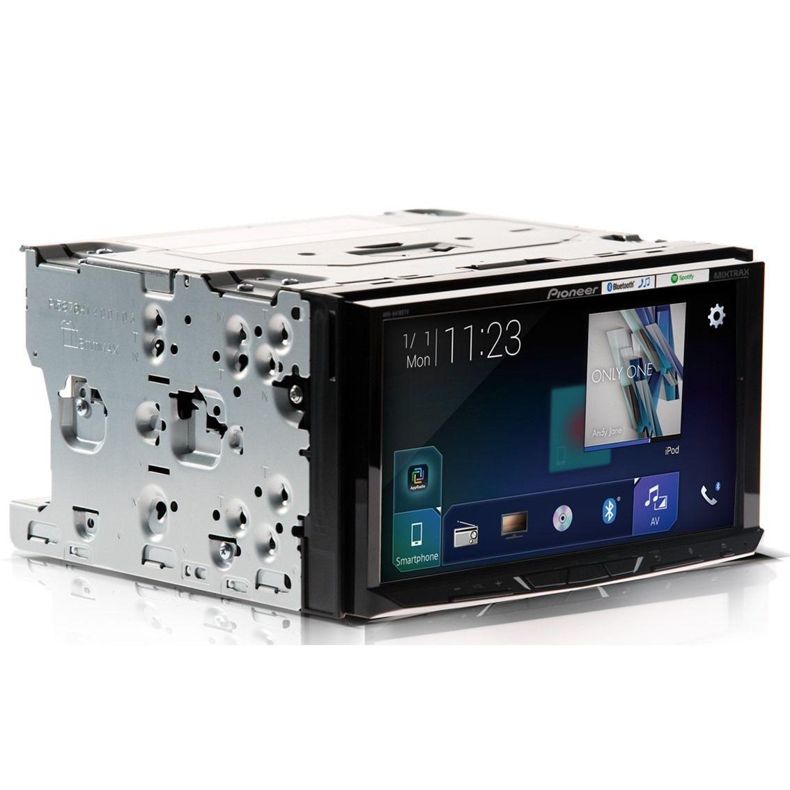 "Central Multimdia DVD Player Automotivo 2 DIN Pioneer AVH-A4180TV Tela 7"" - Bluetooth Com Entrada USB - TV DIGITAL"