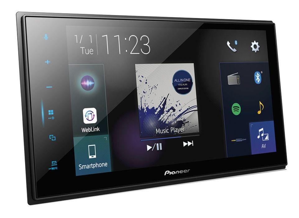 Central Multimidia Pioneer DMH-Z 8280TV -GPS Waze Car play / AndroiAuto - Tela 8 pol TV Digital - Bluetooth Entr. USB  + Camera de ré  (Produto Instalado)