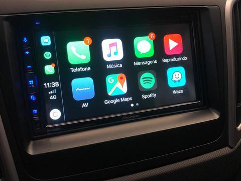 Central Multimdia Pioneer DMH-Z 5280TV -GPS Waze Car play / AndroiAuto - Tela 7 pol TV Digital - Bluetooth Entr. USB + Camera de ré  ( Produto Instalado )