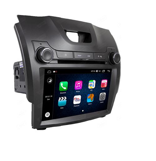 Central Multimidia Aikon Chevrolet S10 2012/16LT  - X2  Tela 7 Polegadas - Leitor DVD - GPS  Bluetooth - 2 entradas USB  TV Digital  - 2 cameras ré + frontal - Sistema Android 8.1