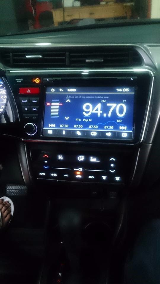 "Central Multimídia Aikon Honda City 2015 A 2019 Tela 8"" Aikon S100 - Com DVD GPS Mapa Bluetooth MP3 USB Ipod SD Card Câmera Ré Grátis - Winca"