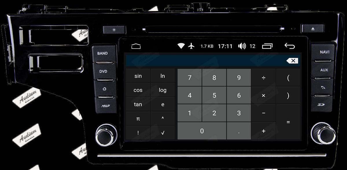 Central Multimidia Aikon Honda FIT - X2  Tela 8 Polegadas - Leitor DVD - GPS  Bluetooth - 2 entradas USB  TV Digital - 2 cameras ré + frontal - Sistema Android 8.1