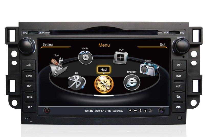 Central Multimídia Chevrolet Captiva 2009 à 2014 Com DVD GPS Mapa Bluetooth MP3 USB Ipod SD Card Câmera Ré Grátis - Winca