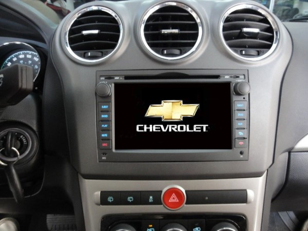 Central Multimídia Chevrolet Captiva 2009 à 2014 Aikon - Android -Com DVD GPS Mapa Bluetooth MP3 USB Ipod SD Card Câmera Ré Grátis