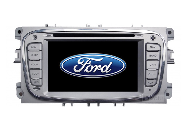Central Multimídia Ford Focus 2009 2010 2011 2012 2013 Com DVD GPS Mapa Bluetooth MP3 USB Ipod SD Card Câmera Ré Grátis
