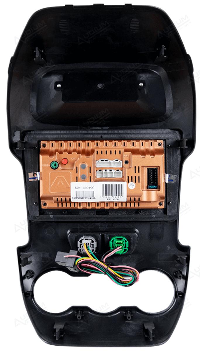 Central Multimidia Ford RANGER 2010/2015 -  Aikon ATOM X9 - Tela 9 pol - Waze Spotify - 2 cameras Ré + Frontal - TV  Digital - GPS Integrado -  Bluetooth - 2 entradas USB - Android 8.1