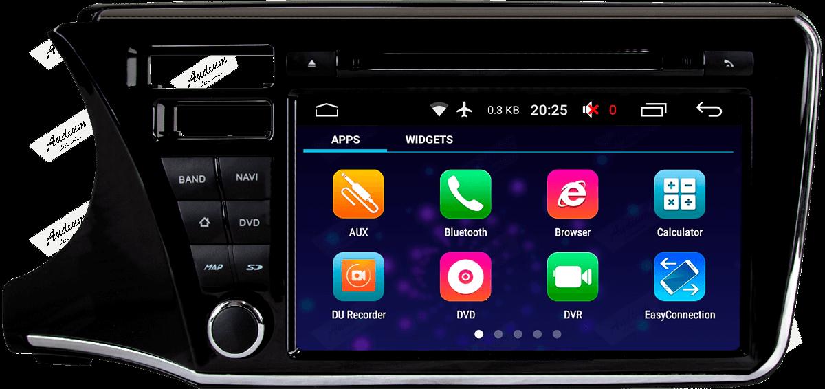 Central Multimidia Honda CITY 2015 a 2020 Winca Tela 9 polegas  - Waze Spotify youtube - 2 cameras Ré + Frontal - TV  Digital - GPS Integrado -  Bluetooth - 2 entradas USB - Android 9.0