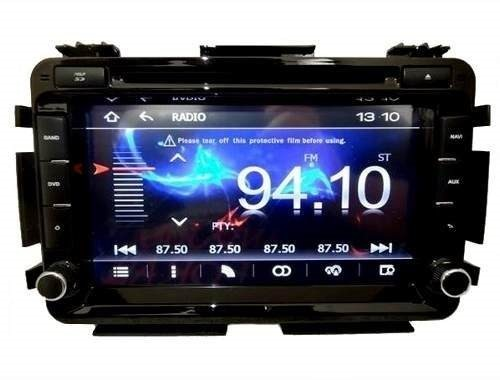 Central Multimidia Honda HRV 2015 2016 2017 2108 Com DVD GPS Mapa Bluetooth MP3 USB Ipod SD Card Câmera Ré Grátis