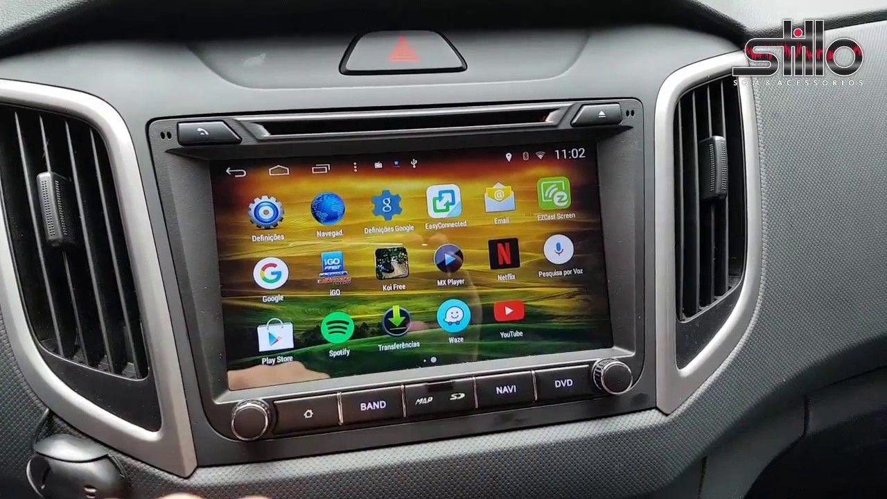 Central Multimidia Hyundai Creta  2016 / 2018 -  S170 - Android + Camera de ré -  Espelhamento DVD GPS Mapa Bluetooth MP3 USB Ipod SD Card Câmera Ré Grátis