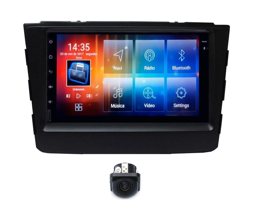 """Central Multimidia Hyundai Creta - Aikon Tela 7"""" - Plataforma Android 8.0 - Bluetooth MP3 USB Ipod SD Card Câmera de Ré Grátis"""