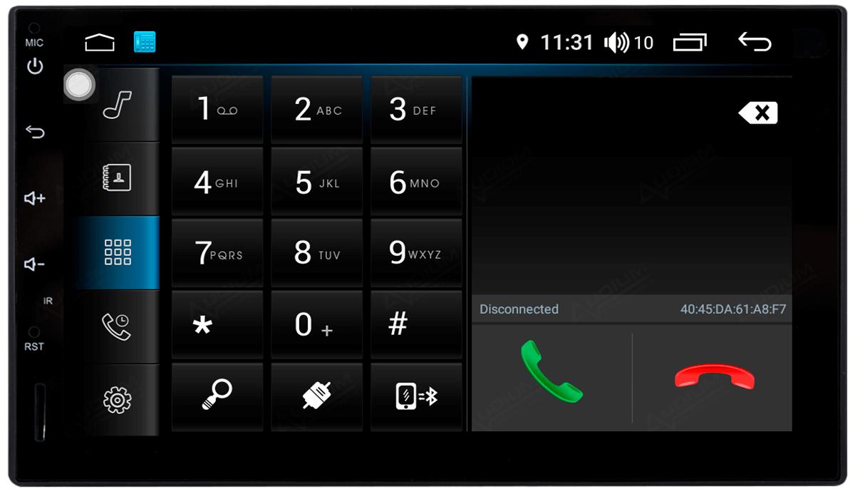 Central Multimidia Hyundai Creta Aikon Atom - Tela 10 Polegadas - TV Digital - GPS Bluetooth MP3 USB - Câmera de Ré - Sistema Android 8.1