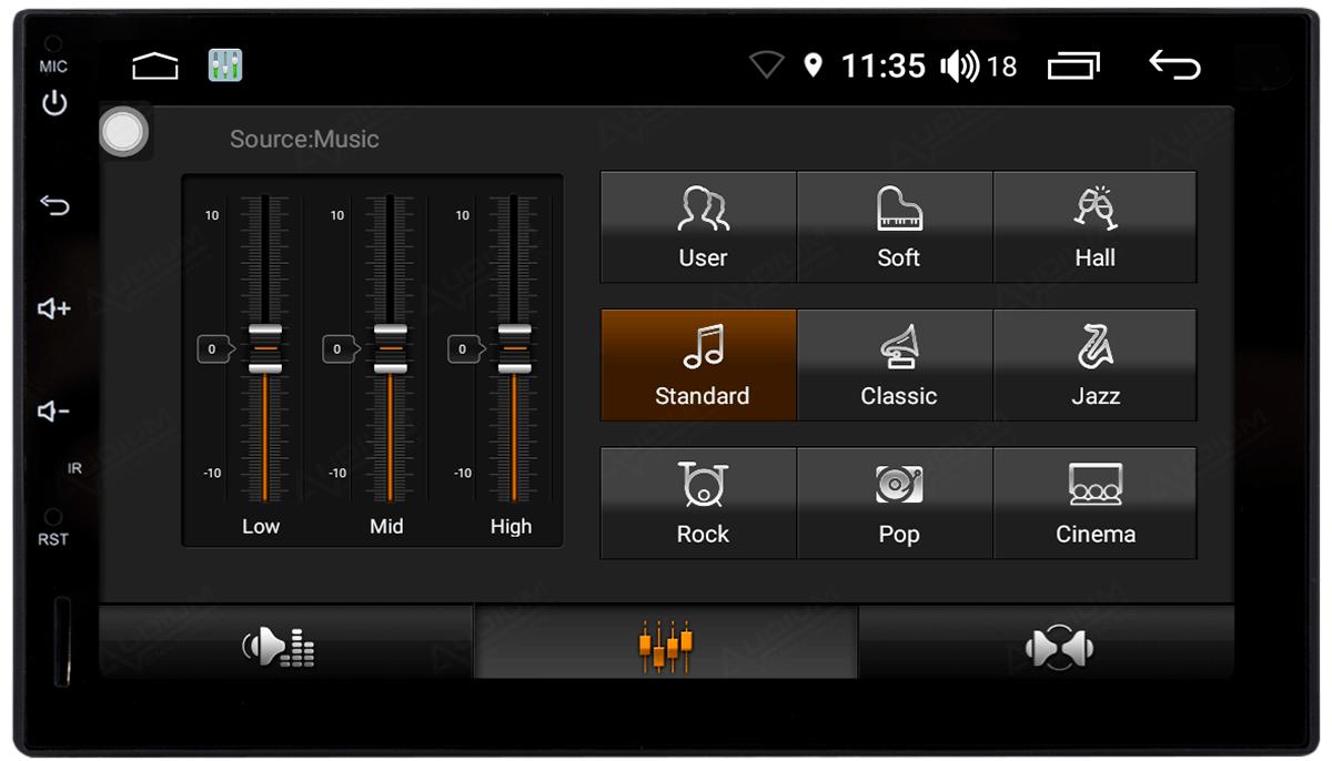 Central Multimidia Hyundai Creta Aikon Atom - Tela 10 Polegadas - TV Digital FULL HD - GPS Bluetooth MP3 USB - 2 Câmera de Ré + Frontal - Sistema Android 8.1