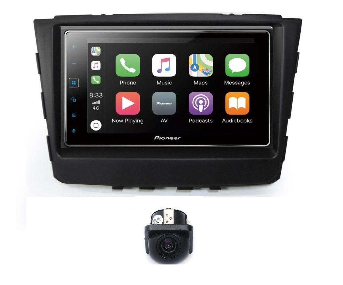 Central Multimidia Hyundai Creta Pioneer SPH-DA 138TV -GPS Waze Car play - Tela 7 pol TV Digital - Bluetooth Entr. USB + Camera de ré  ( Produto Instalado )
