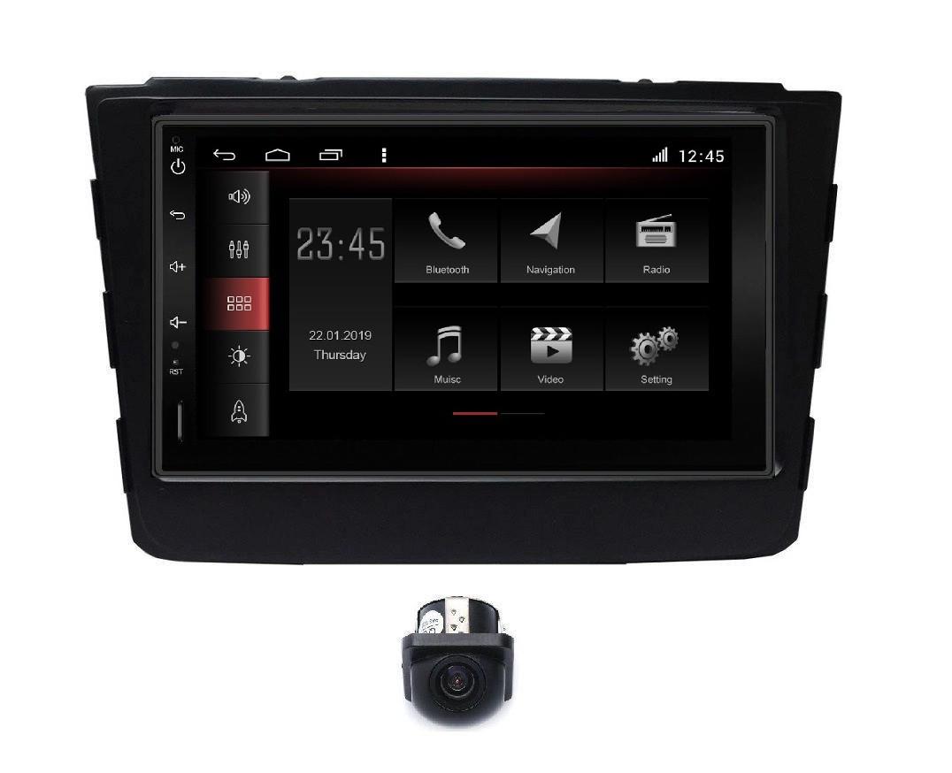 """Central Multimidia Hyundai Creta Winca W7 - Tela 7"""" - Android 8.1 - Espelhamento  GPS IGO  Waze Spotify - Bluetooth - 2 entr. Usb - Camera de Ré"""