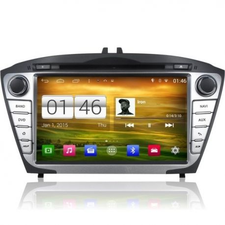 Central Multimidia Hyundai IX35 2010 a 2018 -  S160 - Android + Camera de ré -  Espelhamento DVD GPS Mapa Bluetooth MP3 USB Ipod SD Card Câmera Ré Grátis
