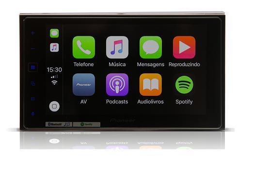 Central Multimidia Jeep Renegade  Pioneer SPH-DA138TV - Espelhamento Waze  Bluetooth Tv Digital  USB + Câmera de Ré Grátis